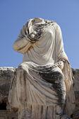 A statue in Ephesus city — Stock Photo
