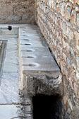 Toilets in Ephesus — Stock Photo