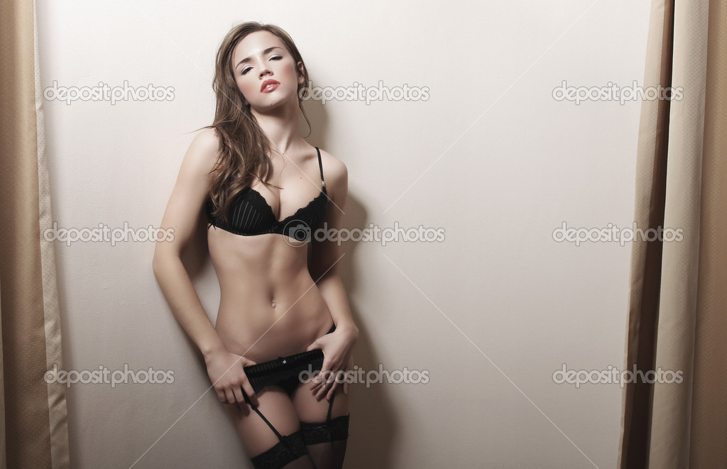 Brunette woman   — Stock fotografie #9130806