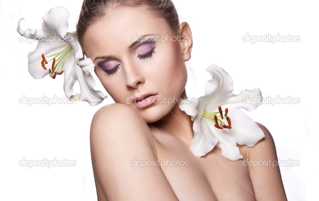 Beautiful fresh woman  Stock Photo #9132389