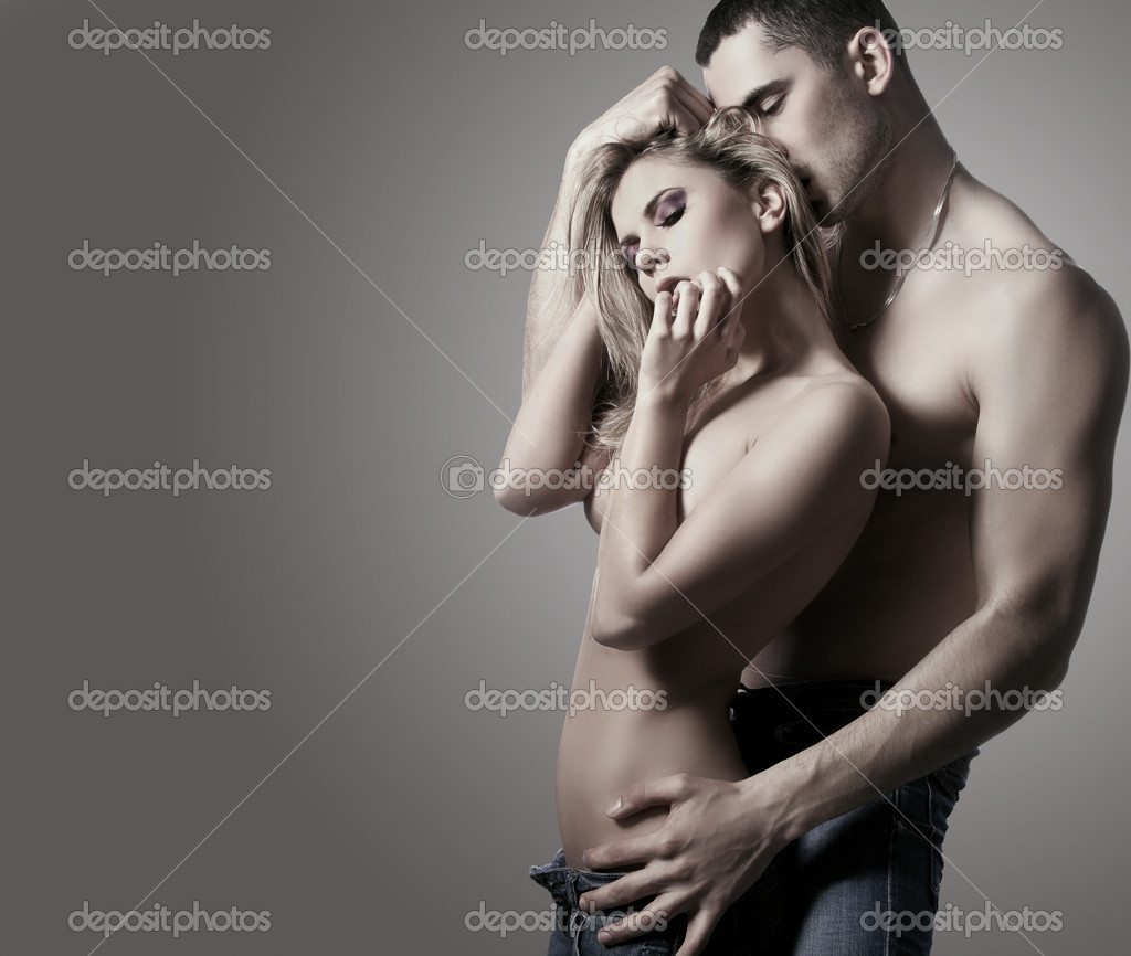 Portrait of romantic couple  — Stock Photo #9132922