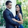 Portrait of beautiful handsome couple - Foto de Stock  
