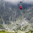 Cable car in Slovakia, High Tatras - Stock Photo