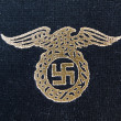 Nazi eagle badge — Stock Photo
