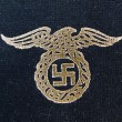 Nazi eagle badge - Stock Photo