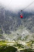 Cable car in Slovakia, High Tatras — Stock Photo