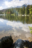 Strbske pleso - Vysoke Tatry, High Tatras — Stock Photo