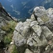 Stock Photo: Panorama of The Krkonose Mts. National Park-Czech Republic