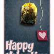 Stock Photo: Happy valentine card