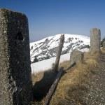 Winter panorama of Krkonose mountains — Stock Photo #10270568