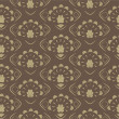 Seamless background Retro old Pattern — Stock Photo