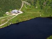 Dom górskich w karkonoszach — Zdjęcie stockowe