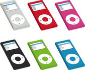 Mp3 Audio system on a white background — Стоковое фото