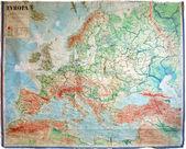 旧地图 — 图库照片