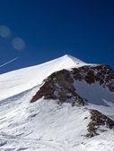 Glacier grande motte — 图库照片
