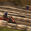 Go kart racing on circuit — Stock Photo #9129247