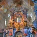 Grottaferrata - The Abbey of St. Mary, Italy — Stock Photo #10193596