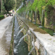 Villa d'Este - The One Hundred Fountains, Italy - Stock Photo