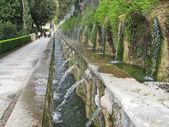 Villa d'Este - The One Hundred Fountains, Italy — Stock Photo