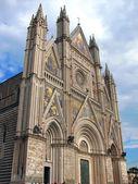 Orvieto Cathedral Facade - Italy — Stock Photo