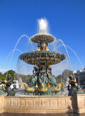 The Fontaine des Fleuves in Concorde Square in Paris — Stock Photo