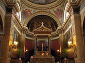 Church Notre-Dame-de-Lorette interior in Paris — Stock Photo