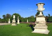 The Tuileries Garden in Paris — Stock Photo