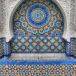 Ablution Fountain in Great Mosque of Paris — Stock Photo #9083387