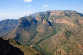 Blyde River Canyon - The Three Rondavels, South Africa — Stock Photo