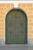 Ancient door — Stock Photo