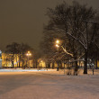 St Petersburg, Russia on a winter evening — Stock Photo