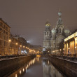 Stock Photo: St-Petersburg, Russiat night.