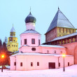 Architecture Novgorod Kremlin, Russia — Stock Photo