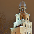 Veliky Novgorod, Russia at night — Stock Photo