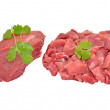 Stock Photo: Raw beef meat