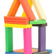 Plasticine house — Stock Photo