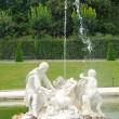 Belvedere Palace garden in Vienna, Austria — Stock Photo
