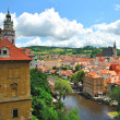 Czech Krumlov, Czech Republic — Stock Photo #9126283