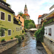 Czech Krumlov, Czech republic — Stock Photo #9126468