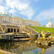 Peterhof, Petersburg, Russia — Stock Photo