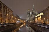 St-Petersburg, Russia at night. — Stock Photo