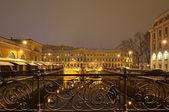 St. Petersburg, Russia, at night — Stock Photo