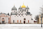 Veliky Novgorod, Russia in winter — Stock fotografie