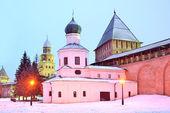 Het platform novgorod kremlin, rusland — Stockfoto