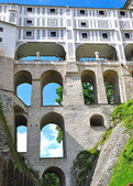The castle of Cesky Krumlov, Czech Republic — Stock Photo