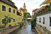 Czech Krumlov, Czech republic — Stock Photo