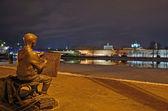 Sculpture in Veliky Novgorod, Russia — Stock Photo
