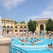 The Szechenyi Bath in Budapest — Stock Photo