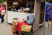 Donne al lavoro — Foto Stock