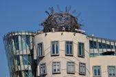 Dancing House in Prague — Stock Photo
